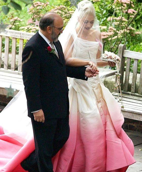 Gwen Stephani wedding dress