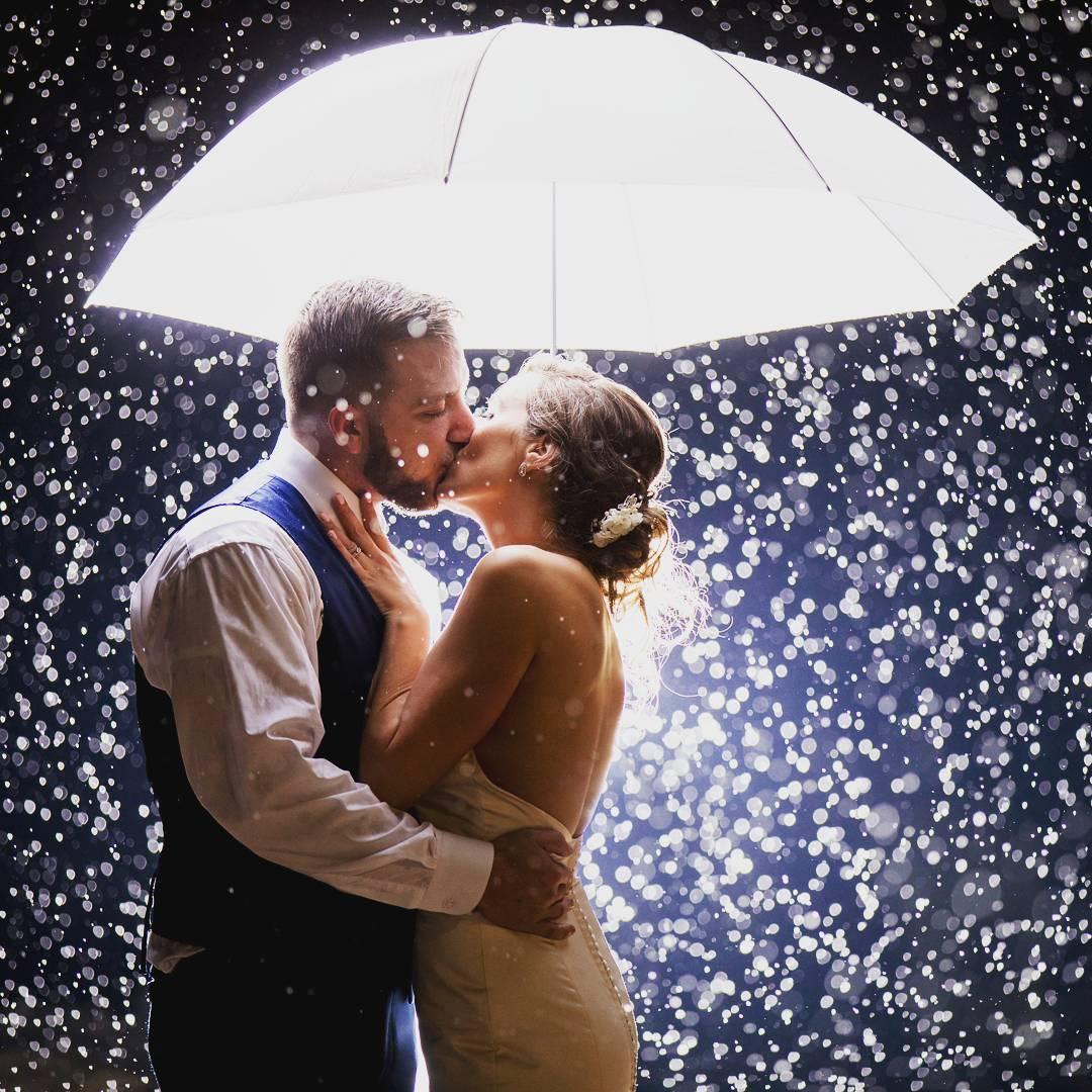 Wedding Day Rain: When It Buckets Down On Your Big Day