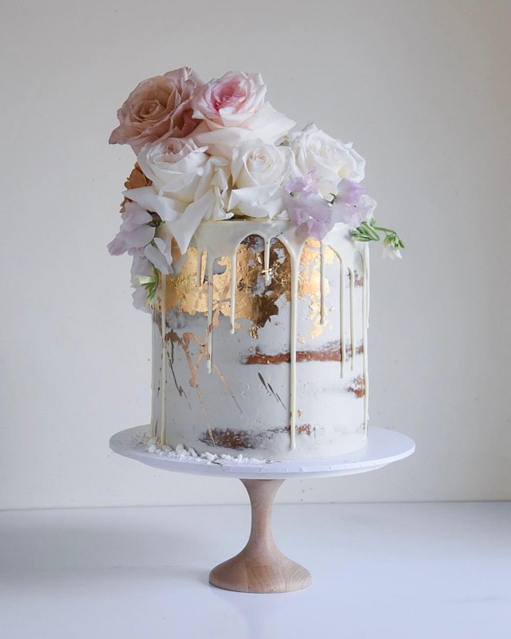 Spring Wedding Cake Ideas