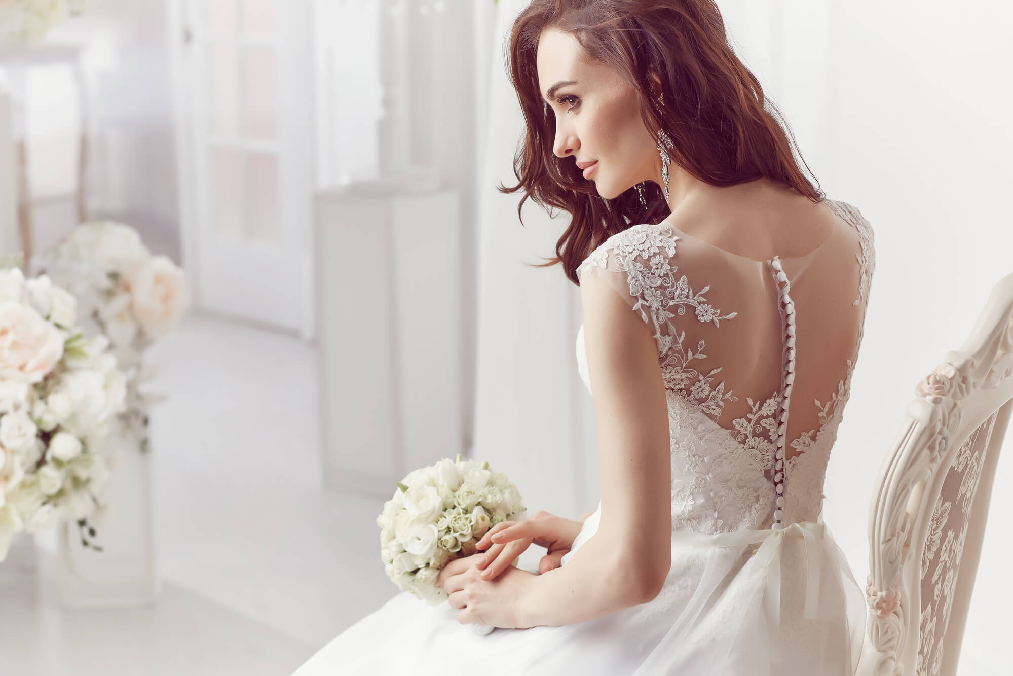 Secondhand wedding dress. Only Dream Dresses Home Page