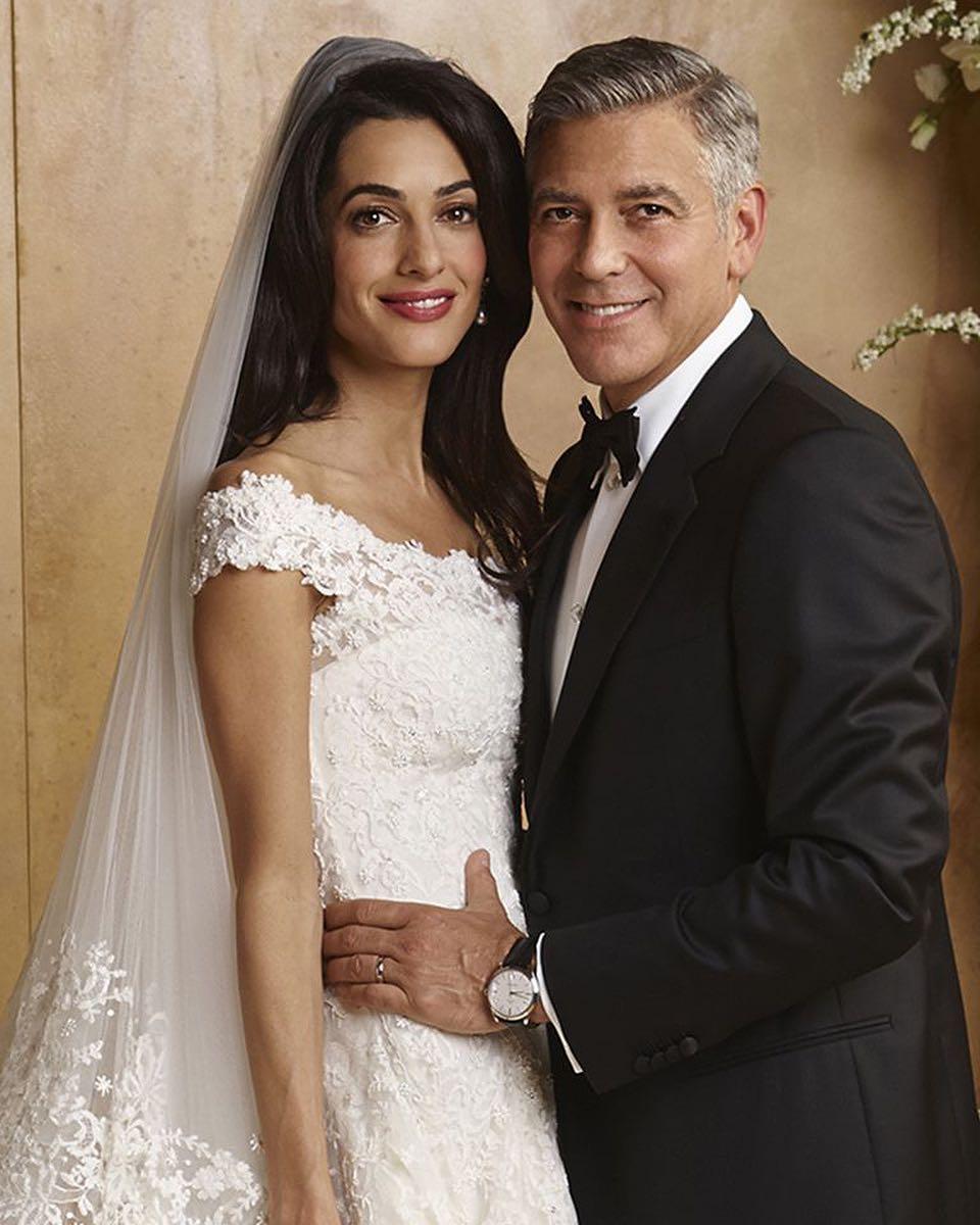 10 unique wedding dresses of all time | Amal Cooney