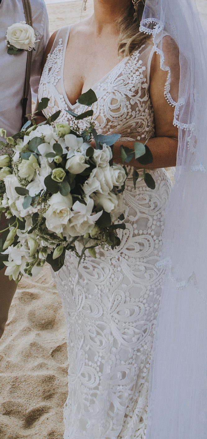 townsville made with lace wedding dress | sell my wedding dress