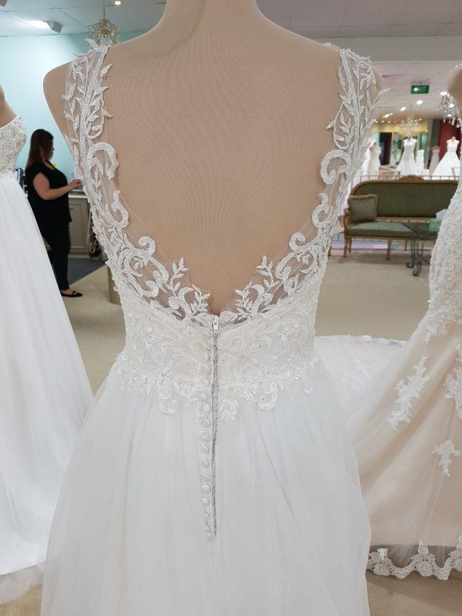 size 8 becca daphne wedding dress | sell your wedding dress