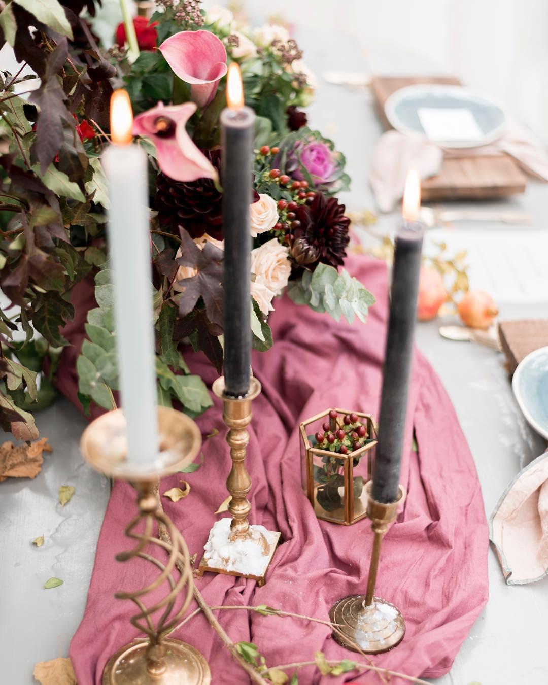 Textured Wedding centerpieces | Wedding centerpiece ideas