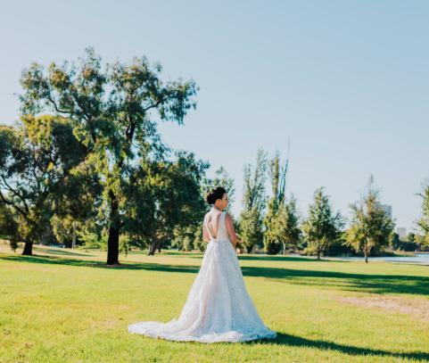 size 8 jean fox wedding dress | secondhand wedding dress