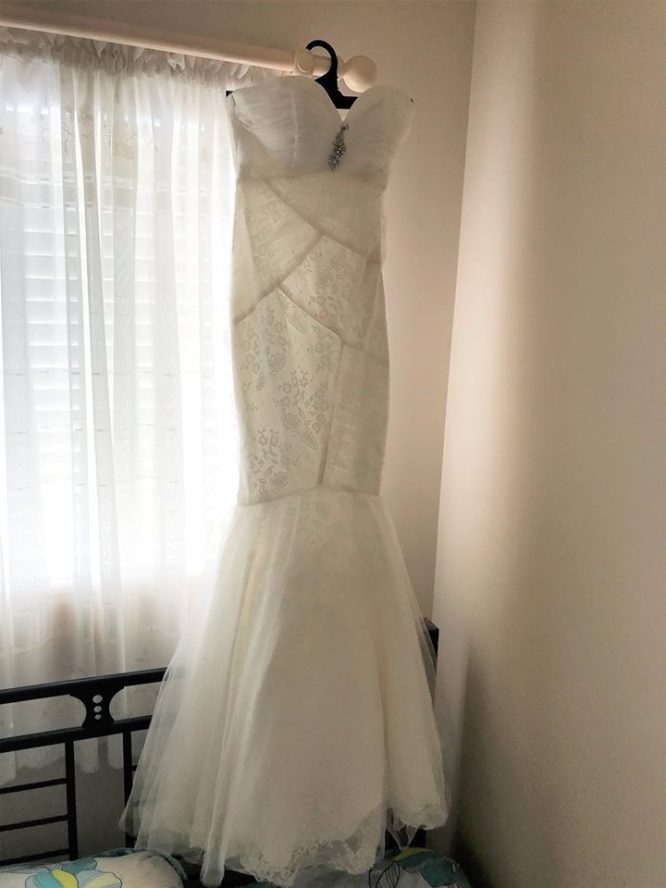 size 8 mermaid wedding dress | sell my wedding dress