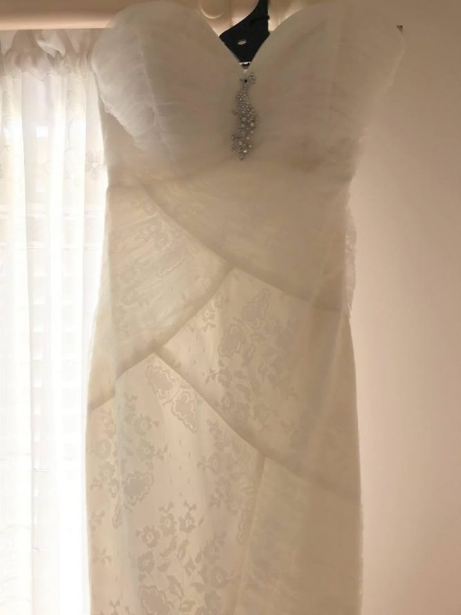 sydney mermaid wedding dress | secondhand wedding dress