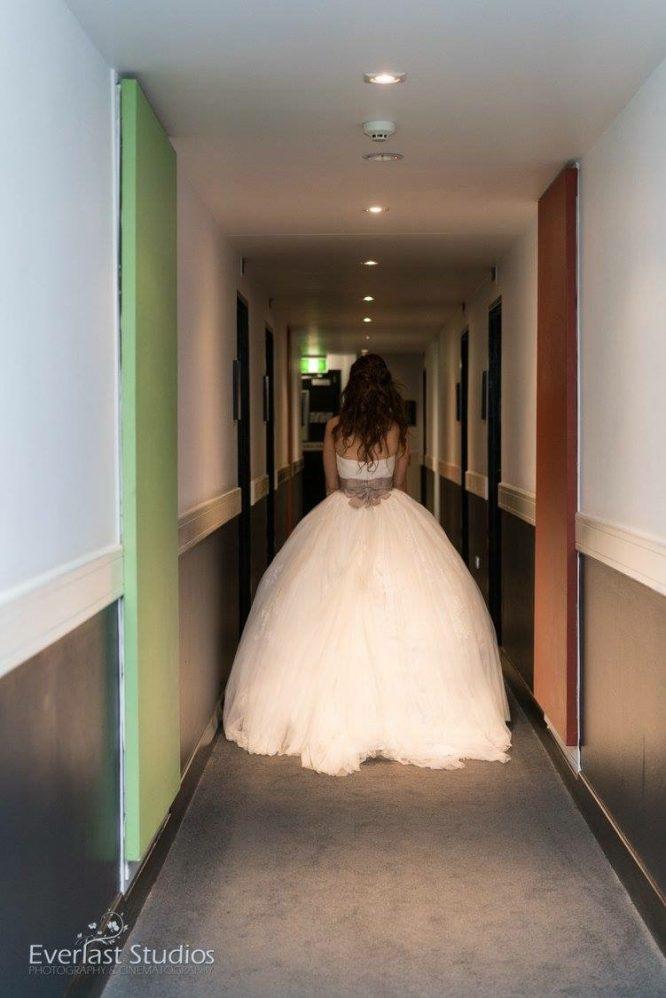 tulle enzoani wedding dress   secondhand wedding dress