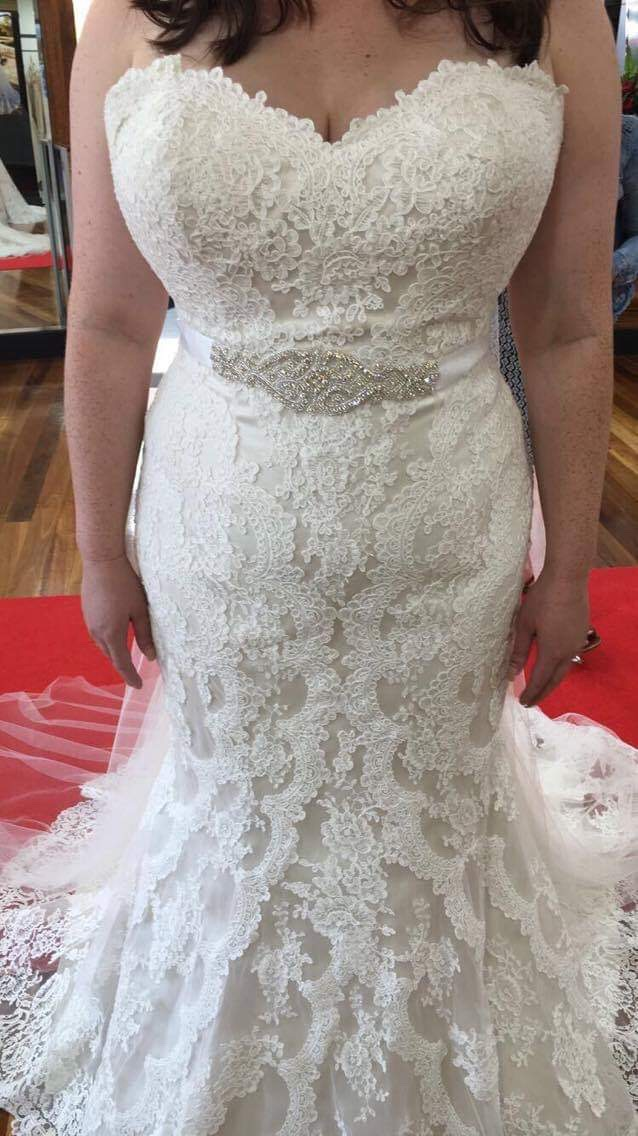 stella york design 5840 wedding dress | pre-loved wedding dresses australia