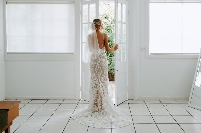 thalia gown by goddess by nature | pre-loved wedding dresses australia