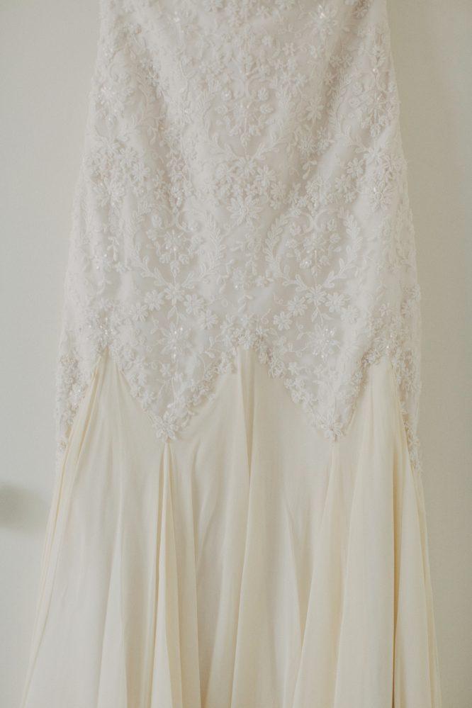 strapless suzanne harward couture wedding dress | buy pre-loved wedding dress australia