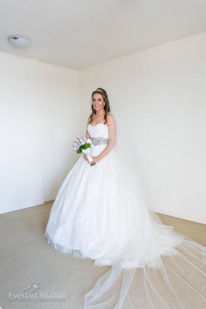 brisbane pre-loved enzoani wedding dress