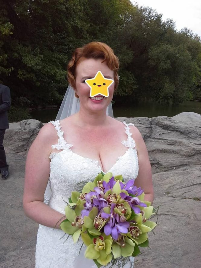 custom made rayner lee wedding dress   sell your wedding dress