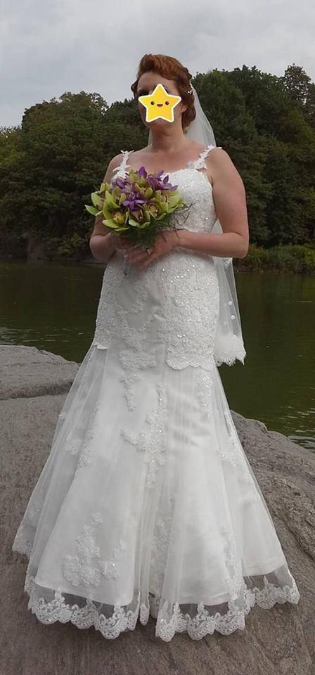 size 14 rayner lee wedding dress   pre-loved wedding dress australia