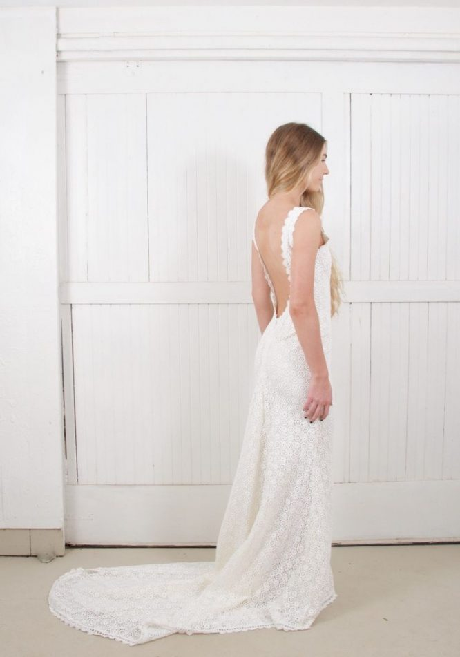size 12 daughters of simone wedding dress | secondhand wedding dress