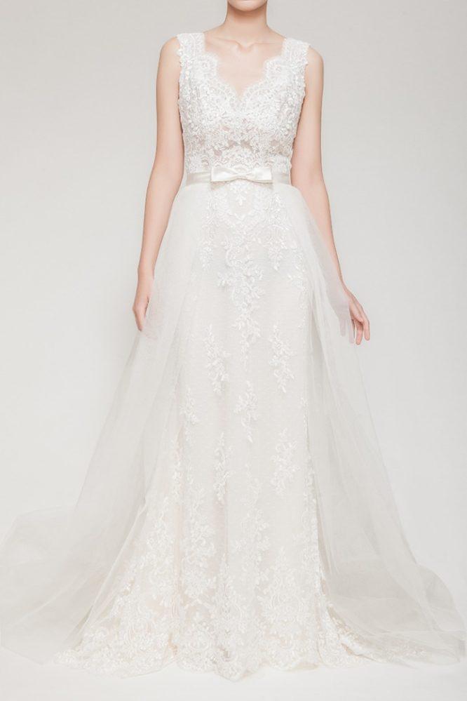 mermaid wedding dress   buy pre-loved wedding dress
