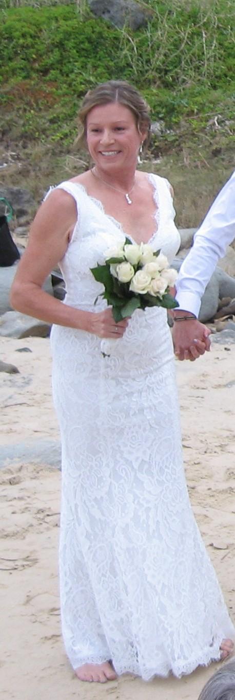 pre-loved beach wedding dress | sell your wedding dress