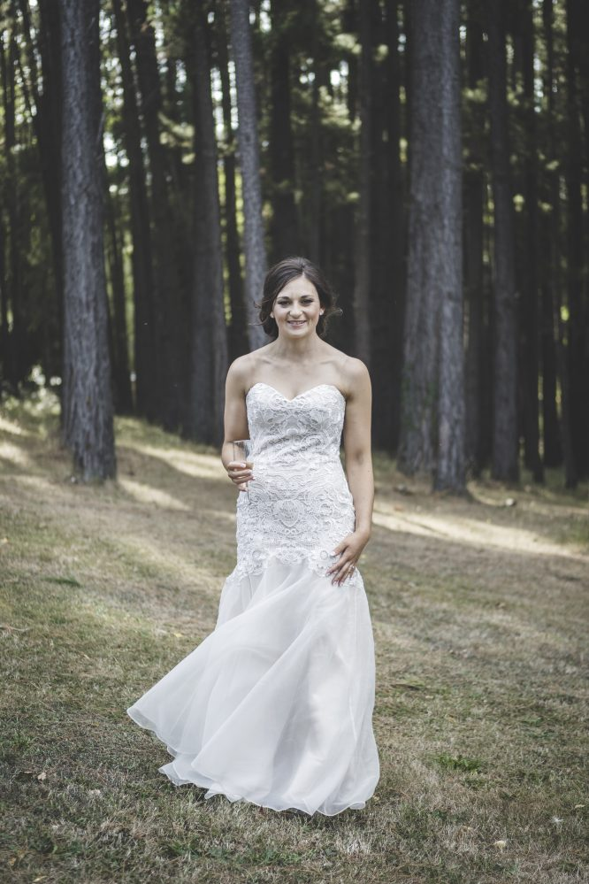 strapless raffaele ciuca wedding dress | secondhand wedding dress