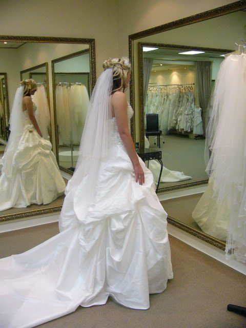 strapless demetrios wedding dress | sell your wedding dress australia