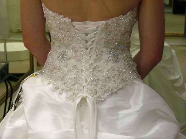 two-piece demetrios wedding dress | pre-loved wedding dress australia