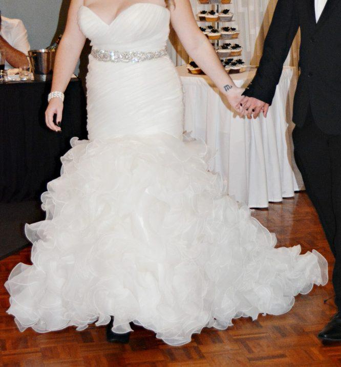 size 12 allure bridal wedding dress for sale