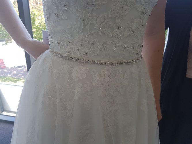 chiffon mori lee wedding dress | sell my wedding dress