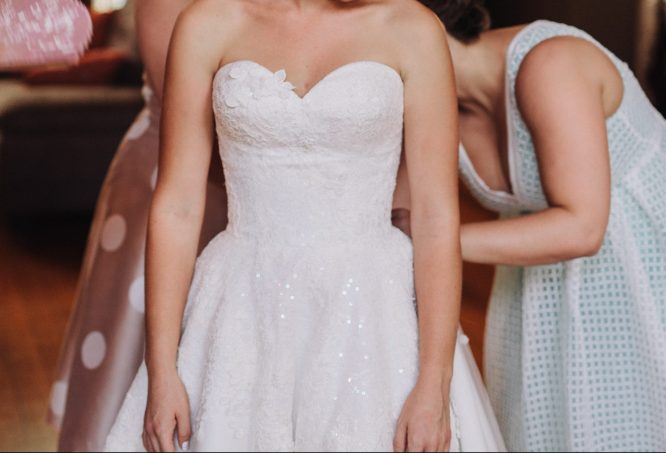 size 6 jack sullivan wedding dress | secondhand wedding dress