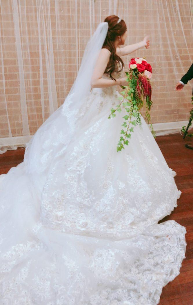pre-loved sydney wedding dress