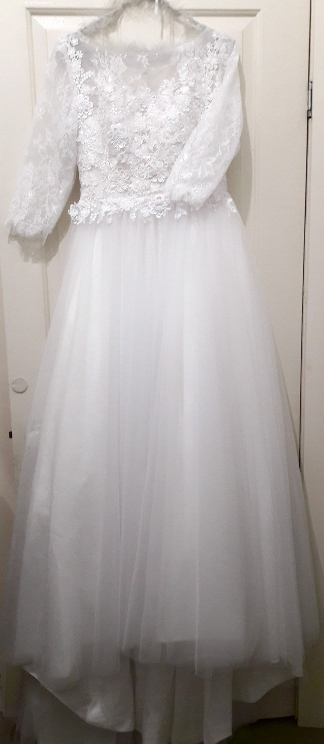 autumn wedding dress | secondhand wedding dress
