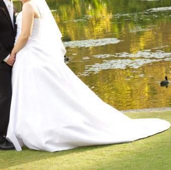 satin lasposa wedding dress | sell my wedding dress