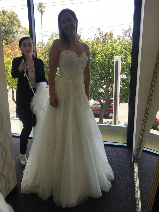 mori lee manon wedding dress | pre-loved wedding dresses australia