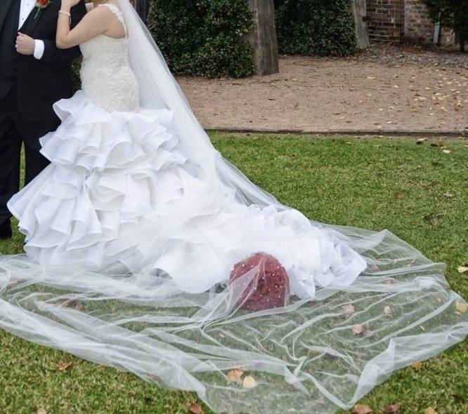 italian silk wedding dress | pre-loved wedding dress australia