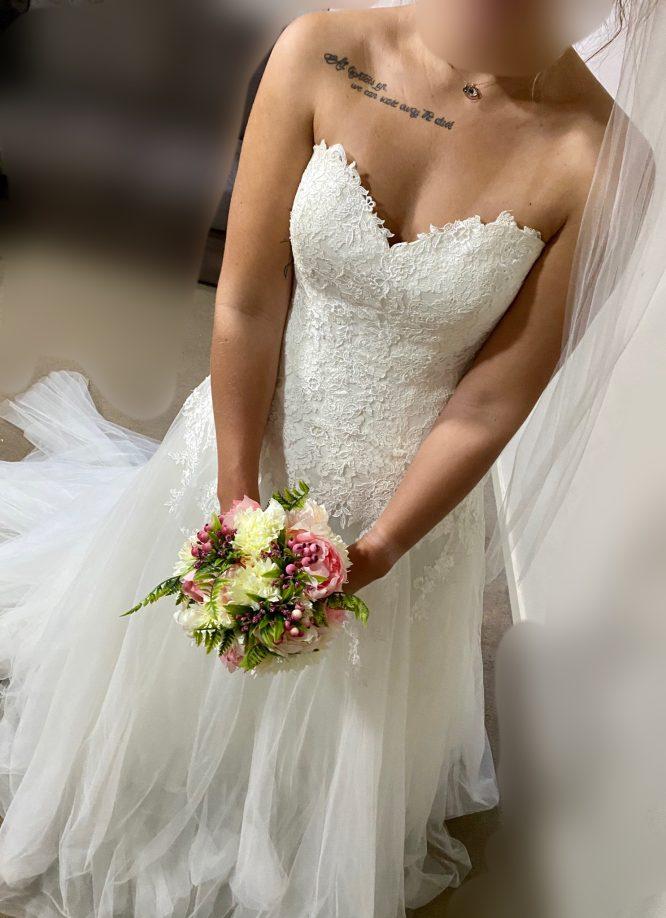 pronovias wedding dress | second hand wedding dresses