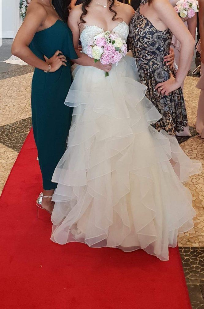 princess wedding dress | hire pre-loved wedding dress