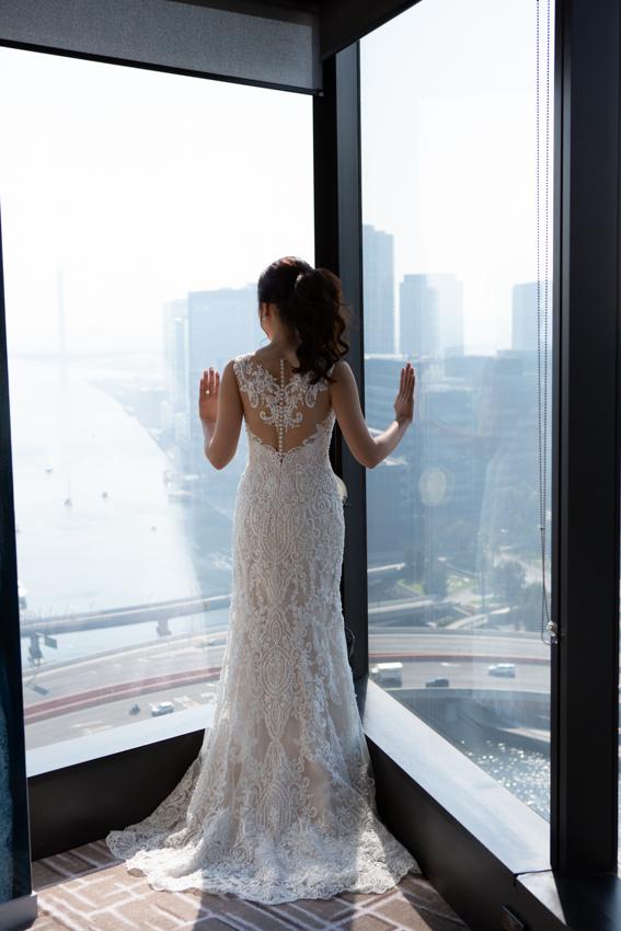 ivory demetrios wedding dress | buy pre-loved wedding dress
