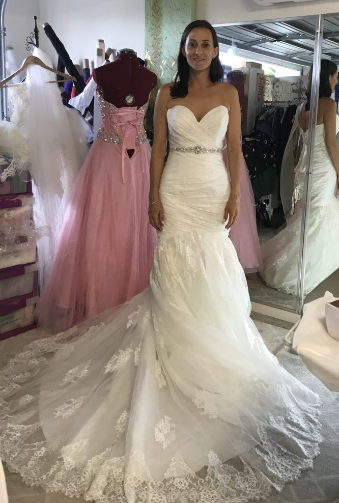 allure pre-loved wedding dress | secondhand wedding dresses australia