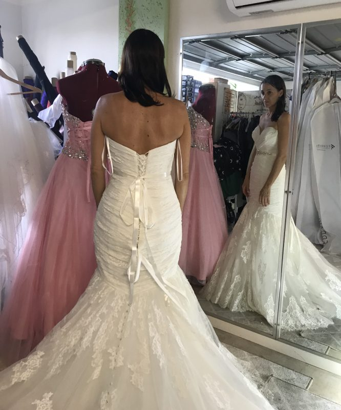 ivory allure wedding dress | wedding dresses for hire