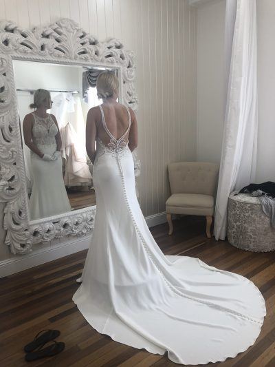 martina liana wedding dress | pre-loved wedding dresses australia