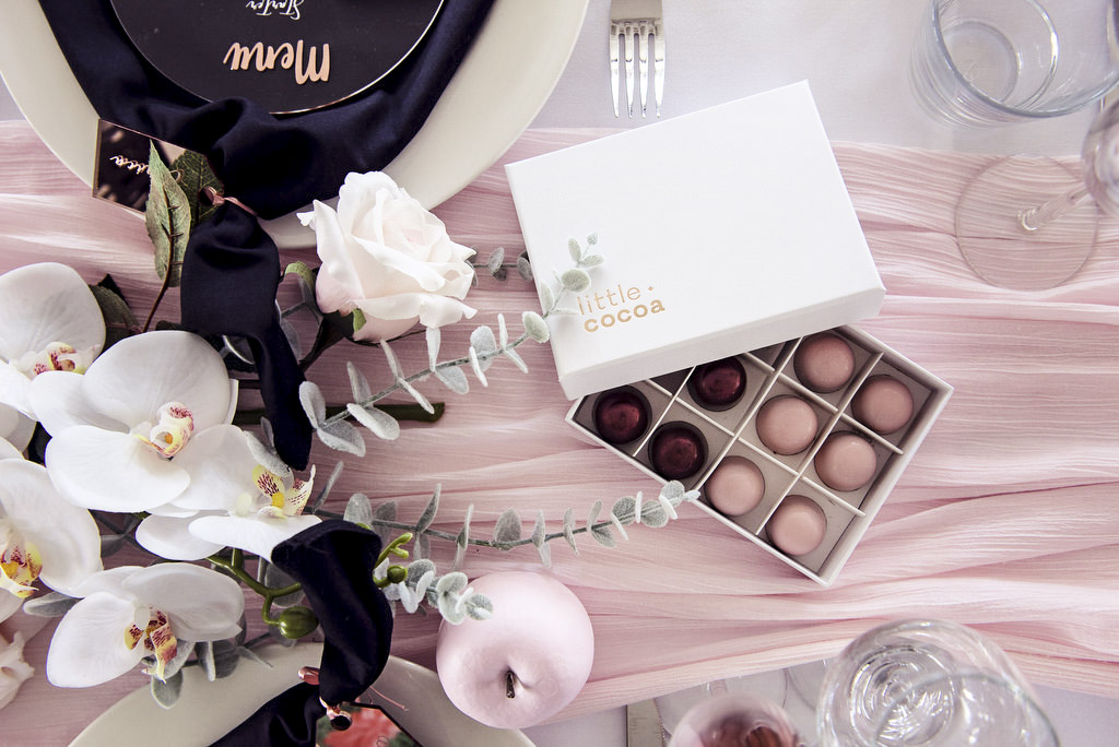 chocolate wedding favours | little cocoa blog interview