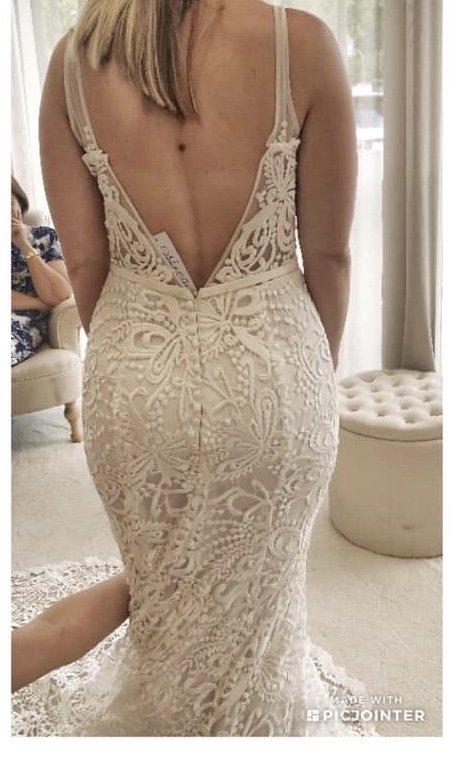 made with love sasha wedding dress | secondhand wedding dress