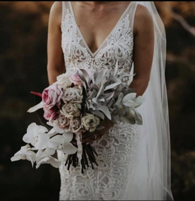 size 8 made with love wedding dress | wedding dress hire