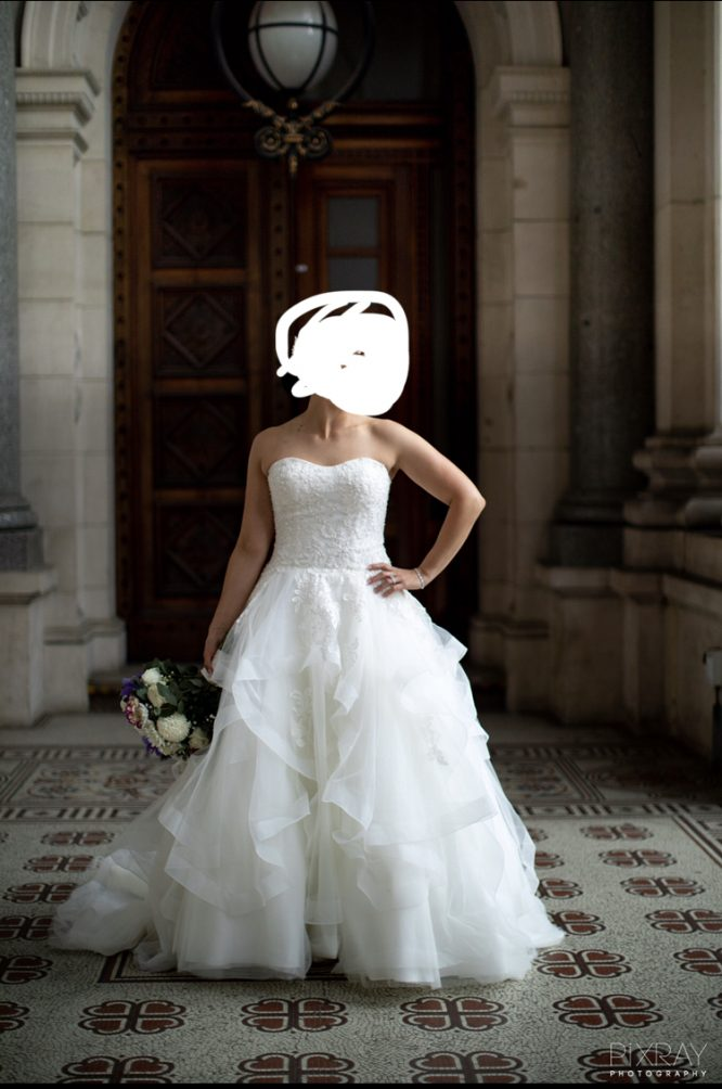 christina rossi wedding dress   pre-loved wedding dress