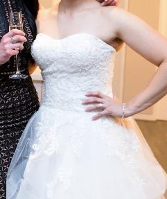 pre-loved christina rossi wedding dress canberra