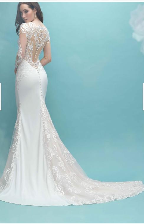size 10 allure bridal wedding dress | wedding dress hire