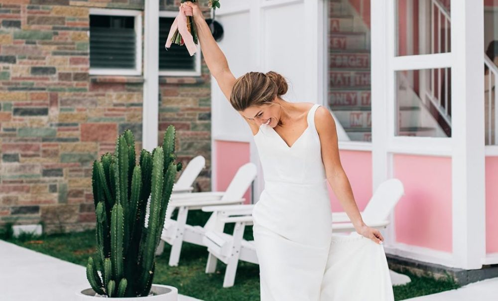 4 Minimalist Wedding Gowns that You'll Love