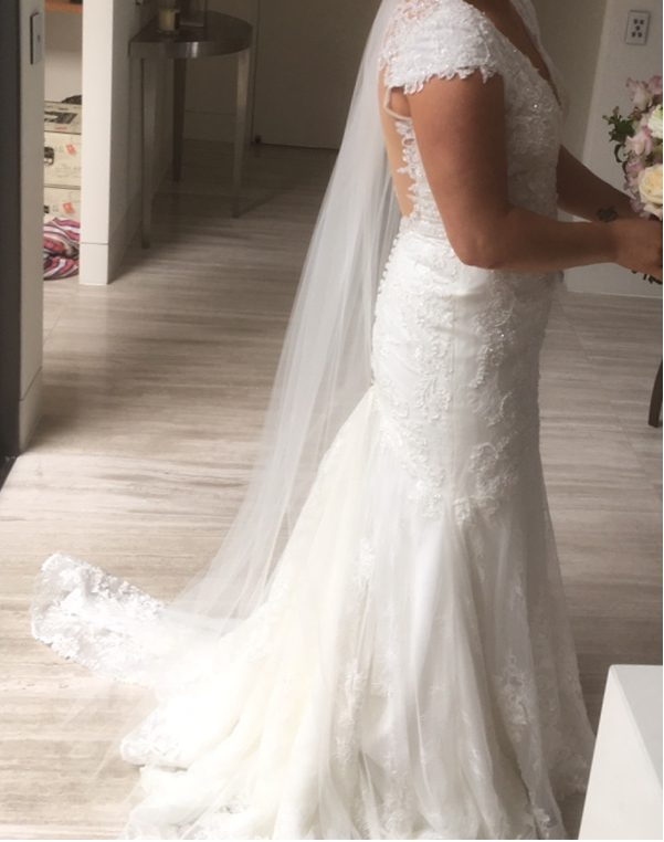 ivory nicole spose wedding dress | hire wedding dress
