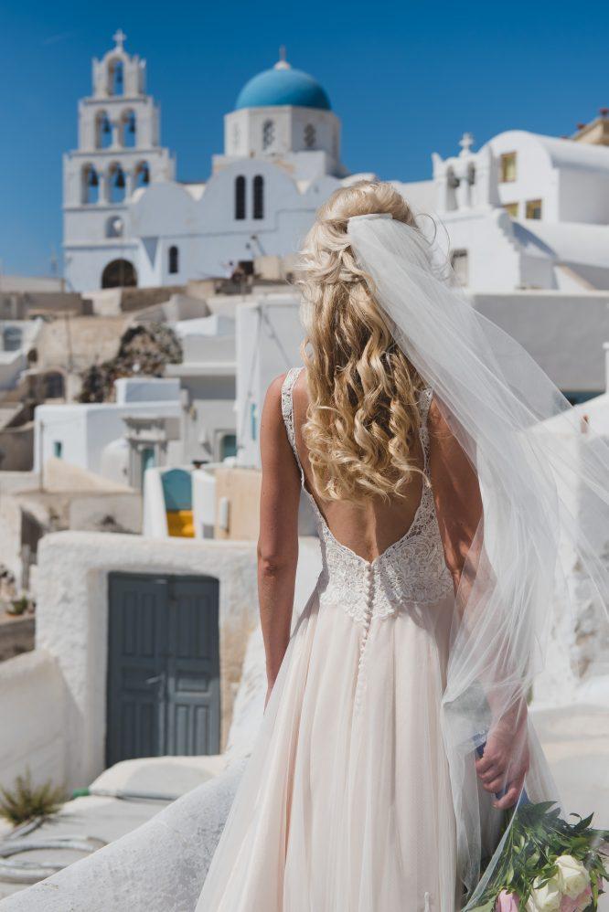 a-line allure bridal wedding dress | secondhand wedding dress