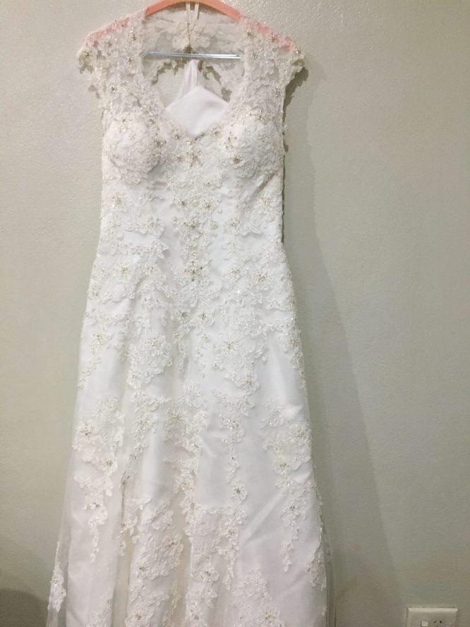demetrios wedding dress | sydney preloved wedding dress