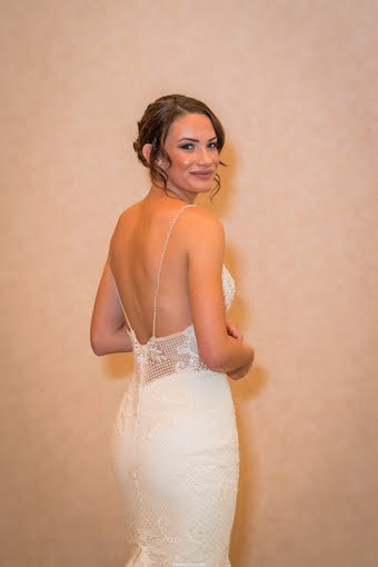 size 4 millinity bridal couture wedding dress | sell my wedding dress