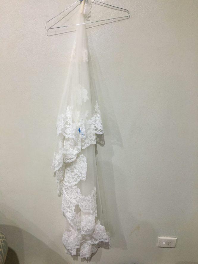 fit and flare demetrios wedding dress | hire wedding dress